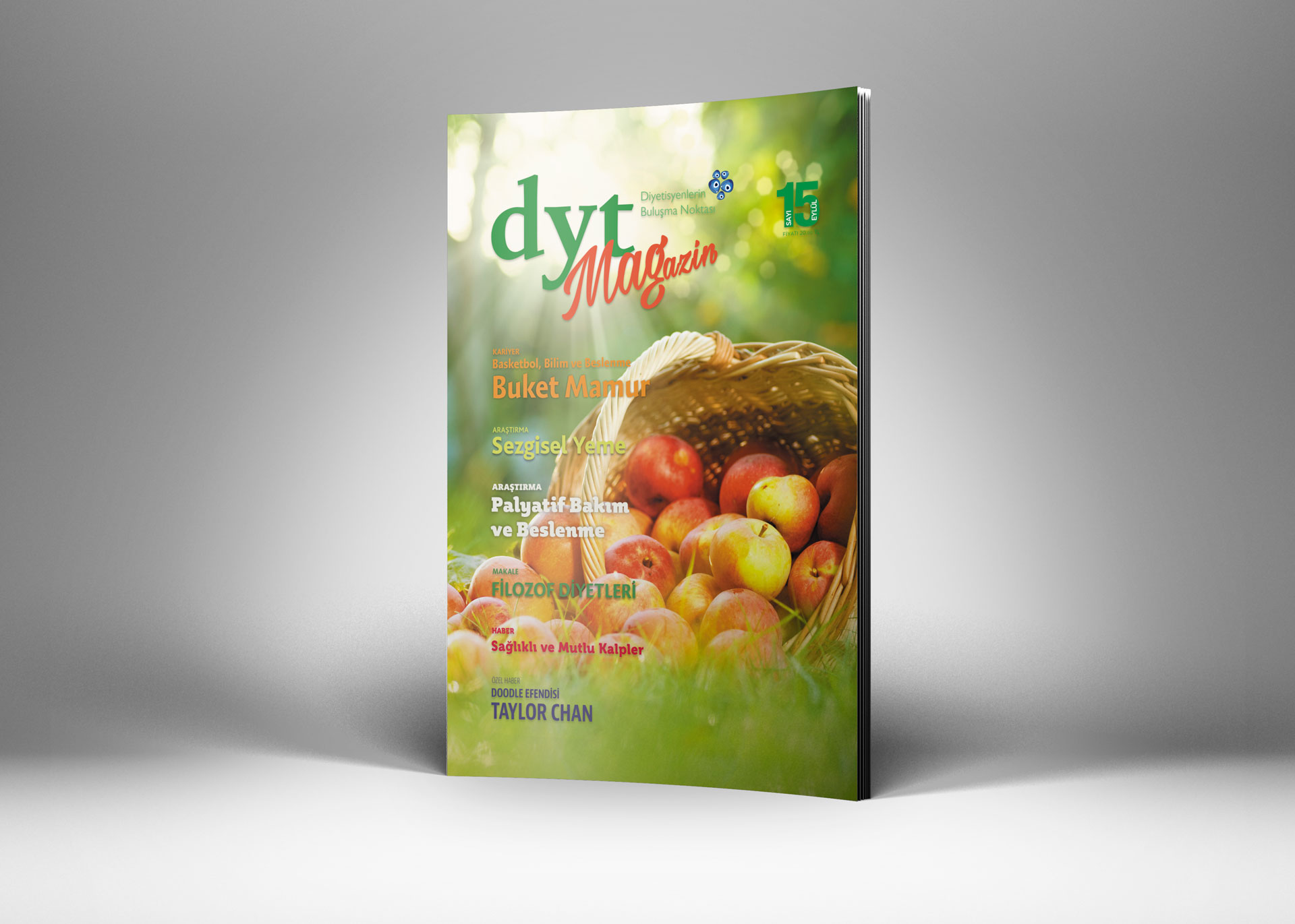 DytMagazin Dergi Tasarımı Sayı 15