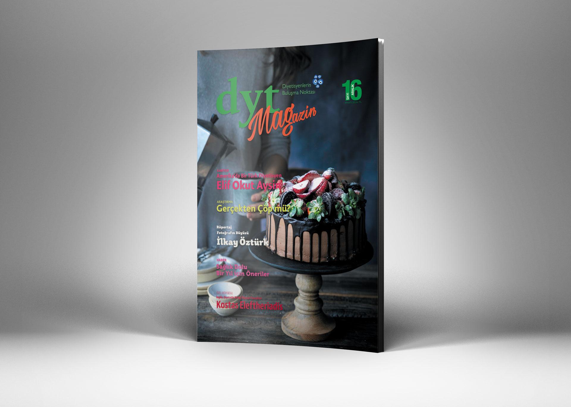 DytMagazin Dergi Tasarımı Sayı 16