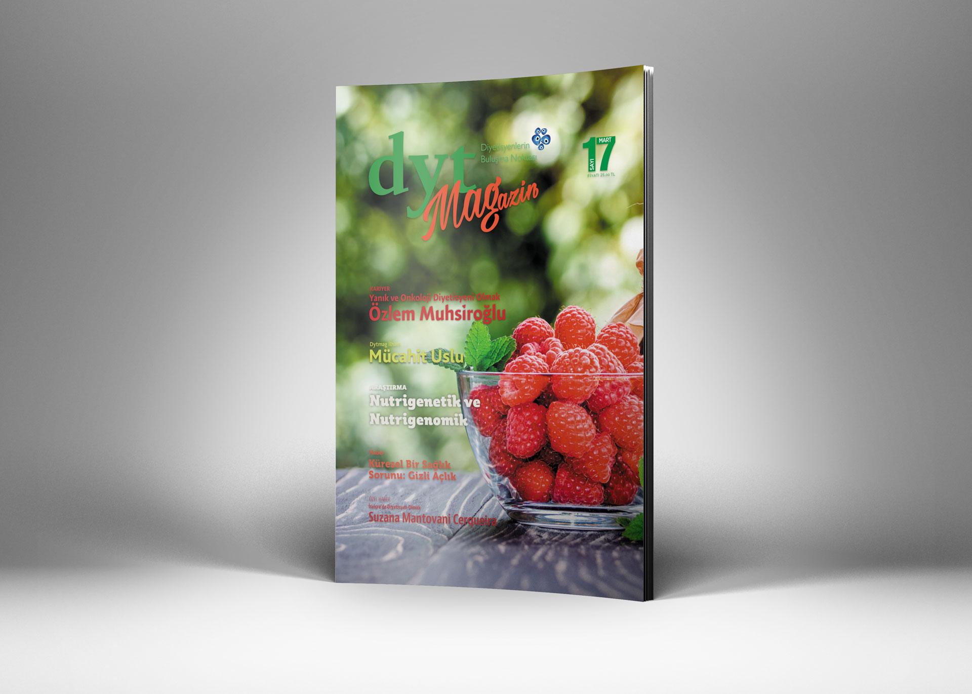 DytMagazin Dergi Tasarımı Sayı 17