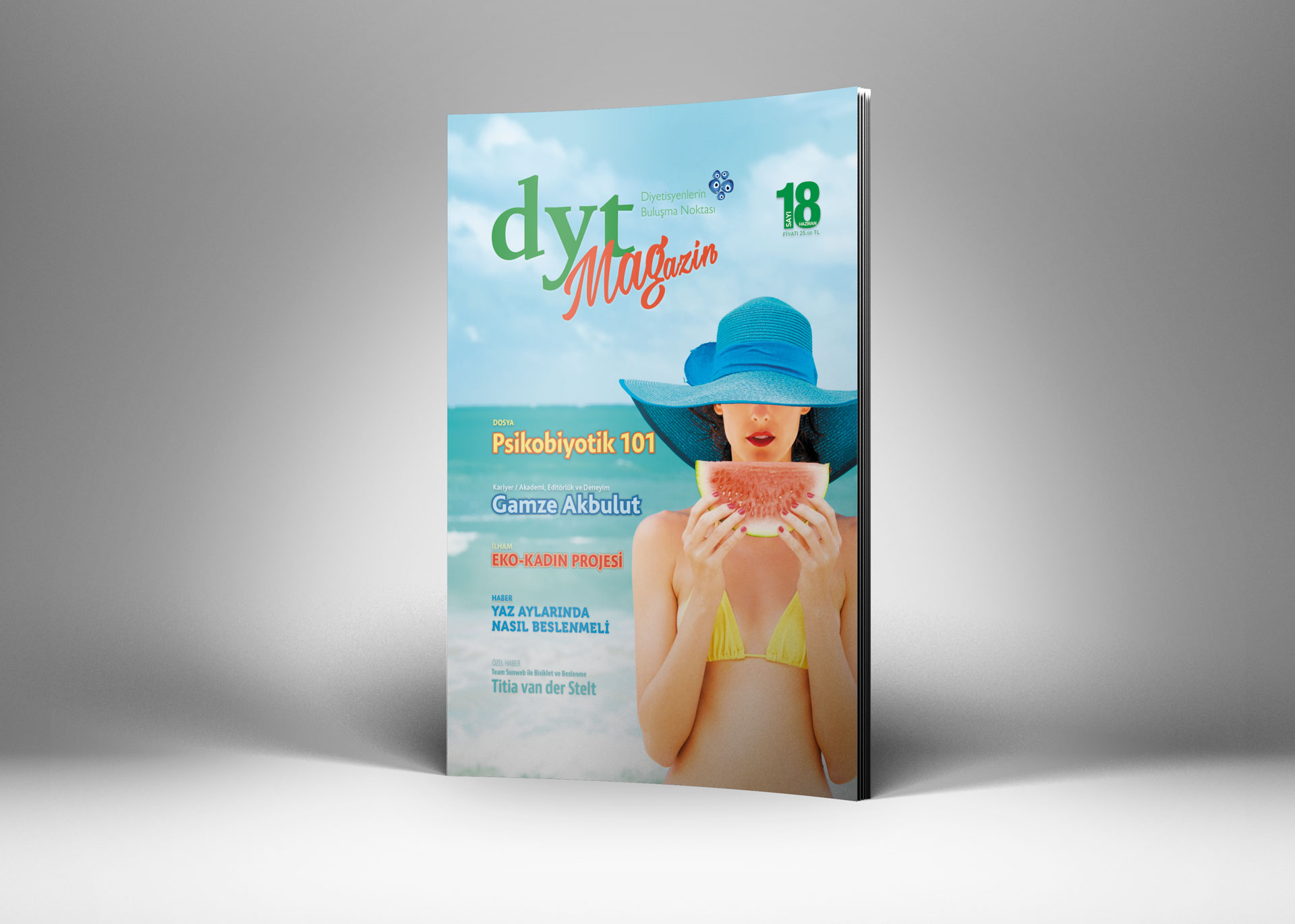 DytMagazin Dergi Tasarımı Sayı 18