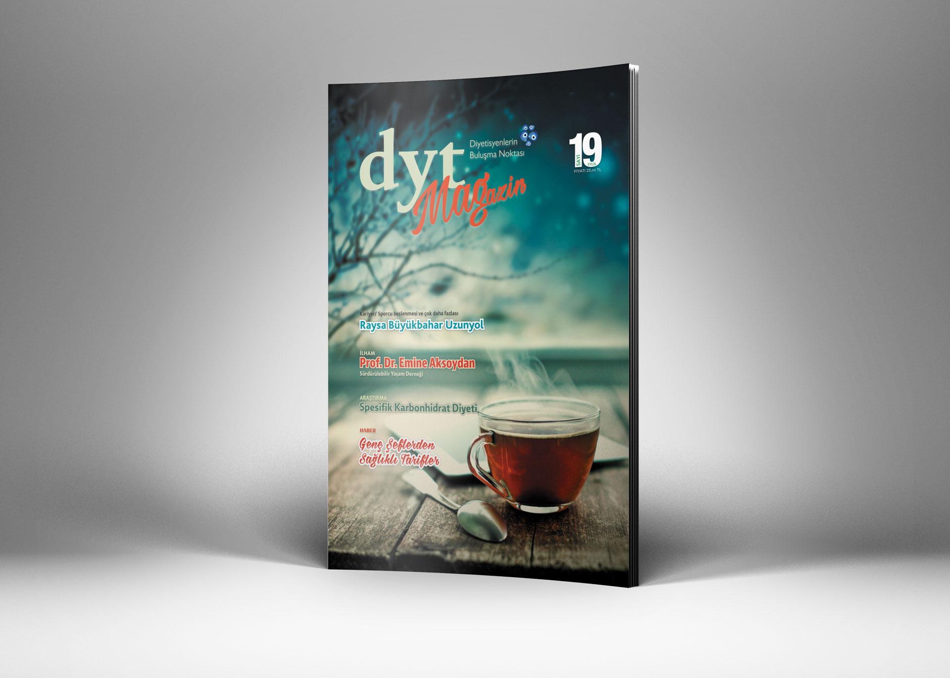 DytMagazin Dergi Tasarımı Sayı 19