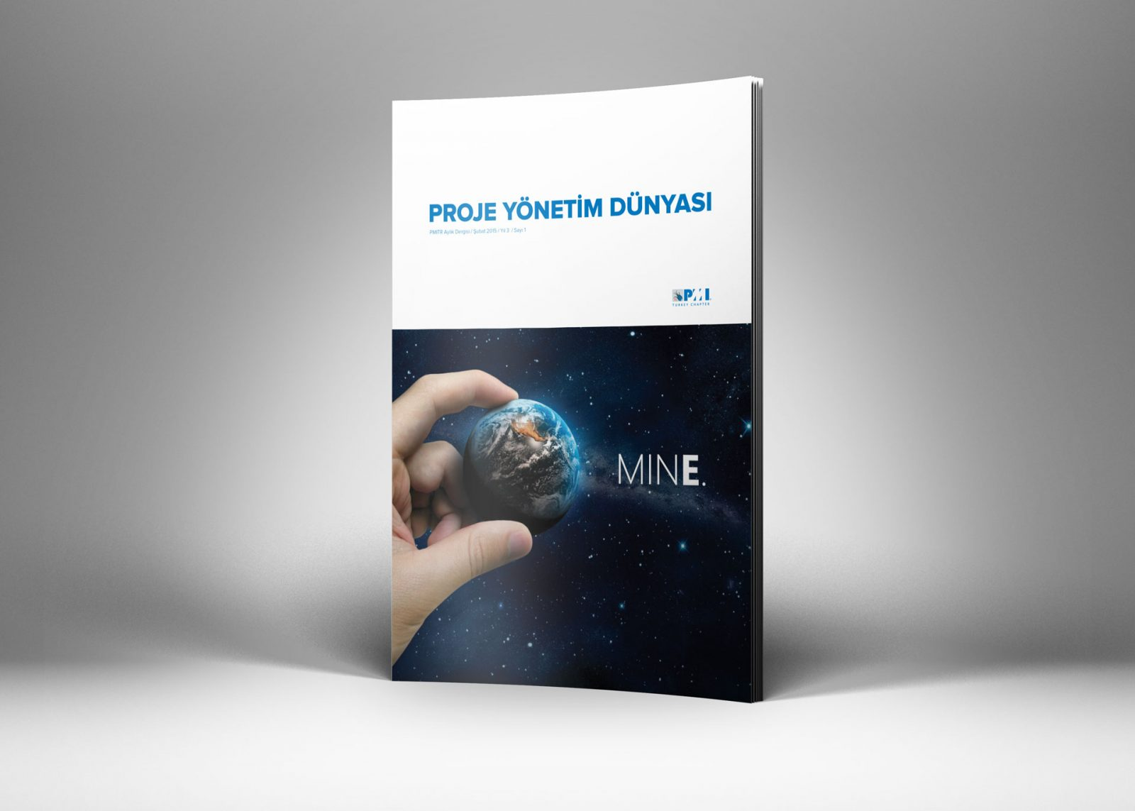 pmi tr dergi tasarımı sayı 1